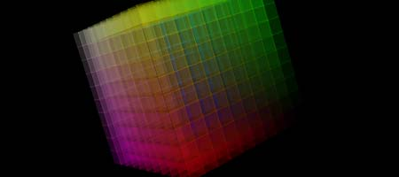 Colors cube