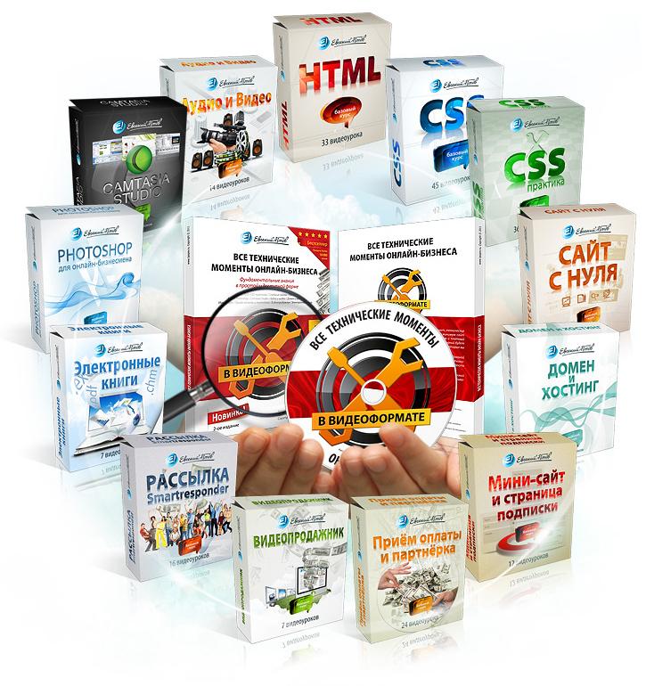 Все Технические Моменты Онлайн-Бизнеса в Видеоформате