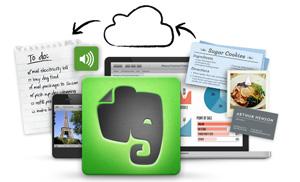 «Evernote — одно из 10 наиболее востребованных приложений»